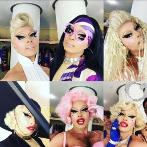THE SUPERSTARS OF DRAG